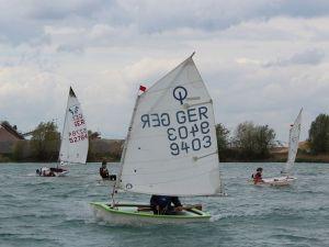 Rette sich wer kann – Thüringer Opti Cup 2015