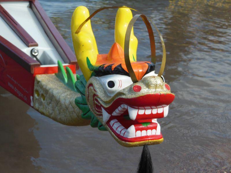 Anmeldung und Training Drachenbootrennen