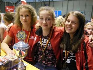 Dreifachsieg der Jungen und Juniorinnen bei der DM SMK in Gotha