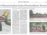 11. Erfurter Drachenbootrennen 2012