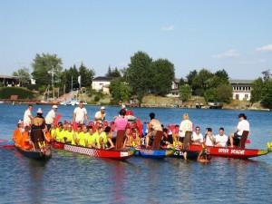 Drachenboot Rennen vom 18.-21.08.2016 am Alperstedter See!