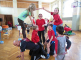 Winterfamiliensportfest des Club maritim in Stotternheim
